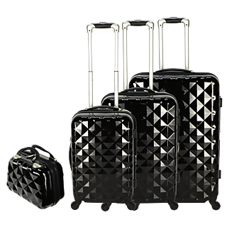 VALISES DIAMANT - Lot de 3 + Vanity