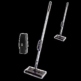 Nettoyez sans efforts. Brosses nettoyantes puissantes Fonctionne sans sac Utilisation rapide et simple Rotation 360°.