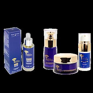 Pour une peau régénérée et lissée. 4 produits anti-âge complémentaires Basés sur le sang de dragon 2 actions : instantanée et durable Jusqu'à 67,9% d'hydratation*.