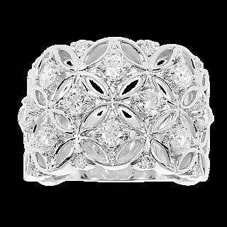 DEMONI Bague Pavée 2.26 eq. carats*