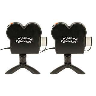 WINDOW WONDERLAND - Projecteur Vidéo - Lot de 2