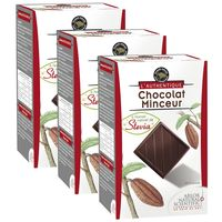 Mincir Avec plaisir. Carrés de chocolat Associé à une formule minceur Programme alimentaire 3 boites de 30 carrés chacune.