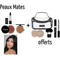 Pour un visage maquillé à la perfection ! 6 produits indispensables Réunis dans une trousse Pour un visage éclatant En quelques minutes.