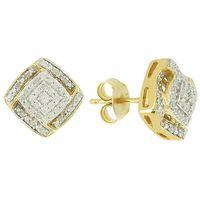Un plaisir éternel ! Argent 925 plaqué or 74 diamants 0.30ct.