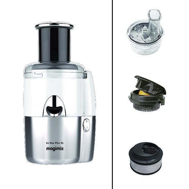 magimix duo salad and juice centrifugeuse multifonction m6 boutique. Black Bedroom Furniture Sets. Home Design Ideas