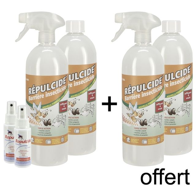 Barriere insectes plus x2 insecticide maison 2 sprays - Barriere aux insectes ...