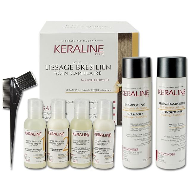 keraline kit lissage br silien shampoing apr s shampoing teva boutique. Black Bedroom Furniture Sets. Home Design Ideas