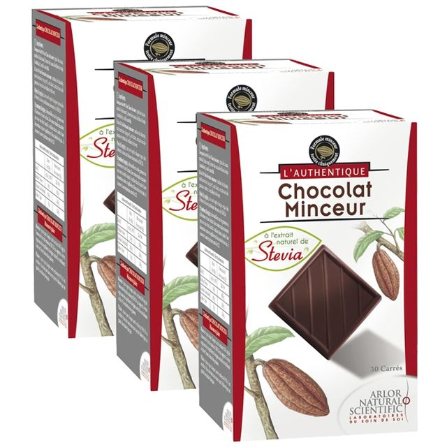 www.w9boutique.fr - L'AUTHENTIQUE Carrés de Chocolat Minceur