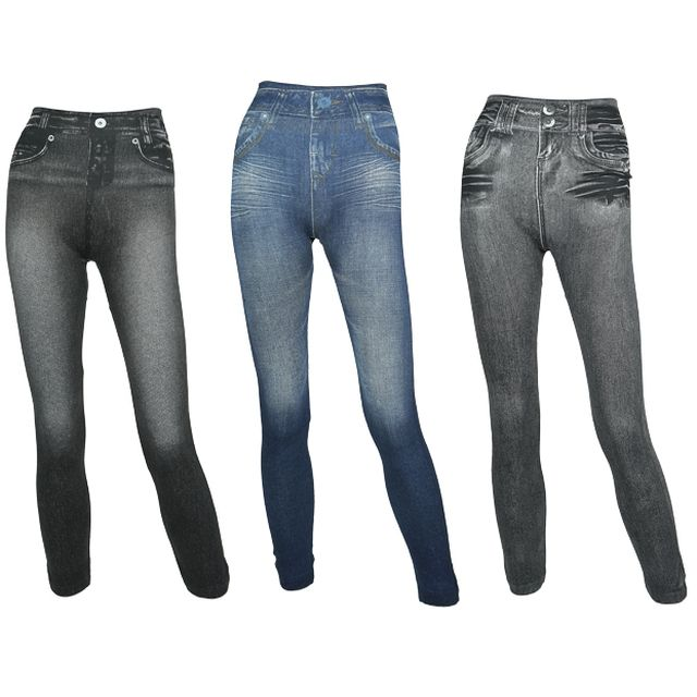 JEGGINGS Remodelant - Lot de 3 - www.bestofshopping.tv