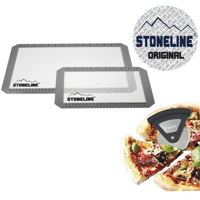 stoneline kit pizza d gustation ustensile de cuisine m6 boutique. Black Bedroom Furniture Sets. Home Design Ideas