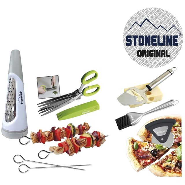 Stoneline indispensable du chef 6 ustensiles de cuisine - Boutique ustensiles de cuisine paris ...