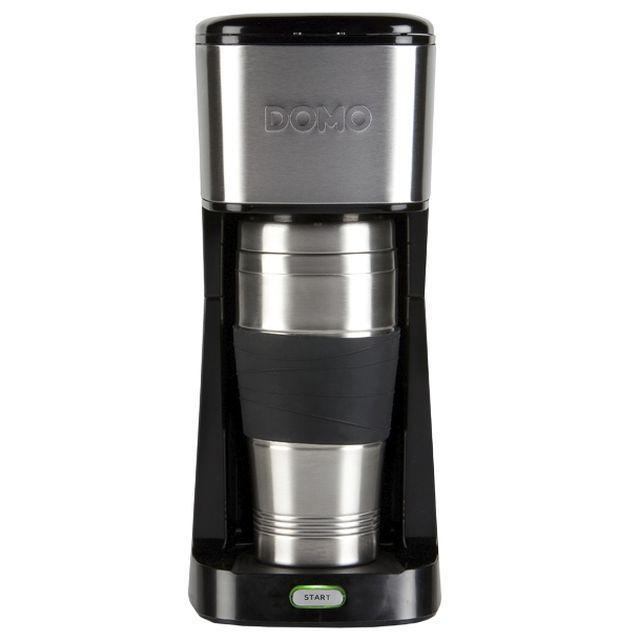 domo coffee to go 2 en 1 cafeti re et gobelet m6 boutique. Black Bedroom Furniture Sets. Home Design Ideas