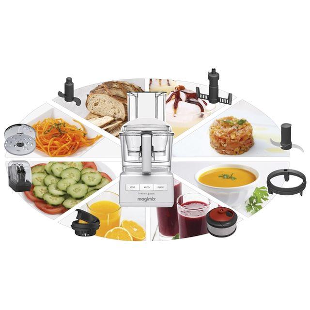 Magimix robot 3200 xl 3 coffrets robot multifonction - M6 boutique robot cuisine ...
