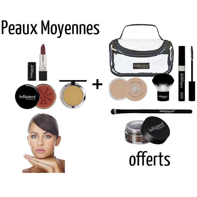 www.parispremiereboutique.com - Trousse Maquillage Express BELLAPIERRE