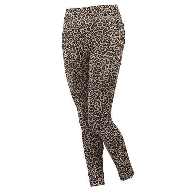 Tv shopping jegging leopard beige for Nrj12 tele achat