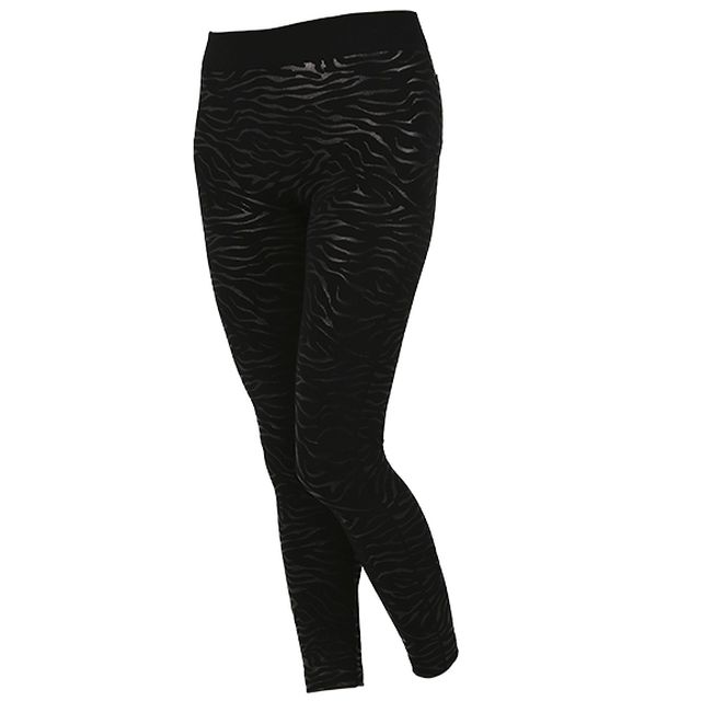 Best Of Shopping - JEGGING NOIR ZEBRE - www.bestofshopping.tv - Jegging Remodelant