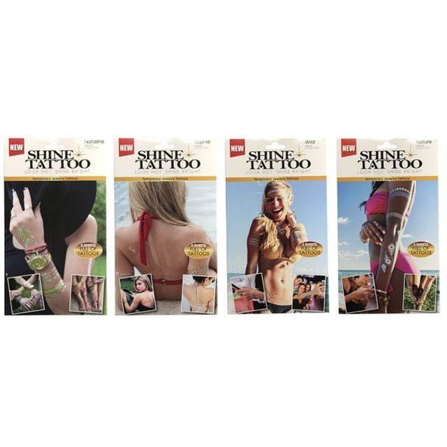 www.nrj12.bos.tv Tattoomania 4 kits. Best Of Shopping NRJ12 Tatouages éphémères