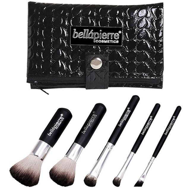 BELLAPIERRE Kit Pinceaux - Maquillage - www.parispremiereboutique.com