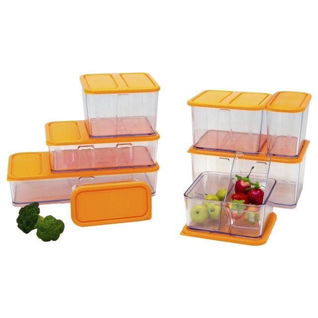 Bo tes stabili cubes maxi pack bo te plastique for Boite plastique alimentaire