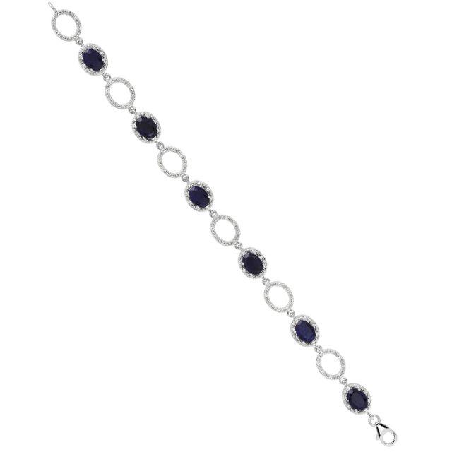 1001 Pierres Bracelet Splendeur Saphir 9.2 carats