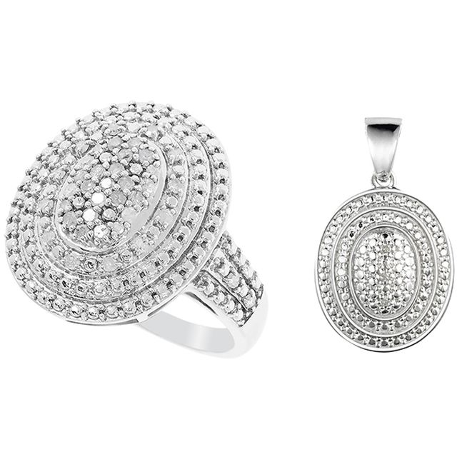 Parispremiereboutique.com - DIAMONESCENCE Bague Tourbillon Diamants - TVABPP