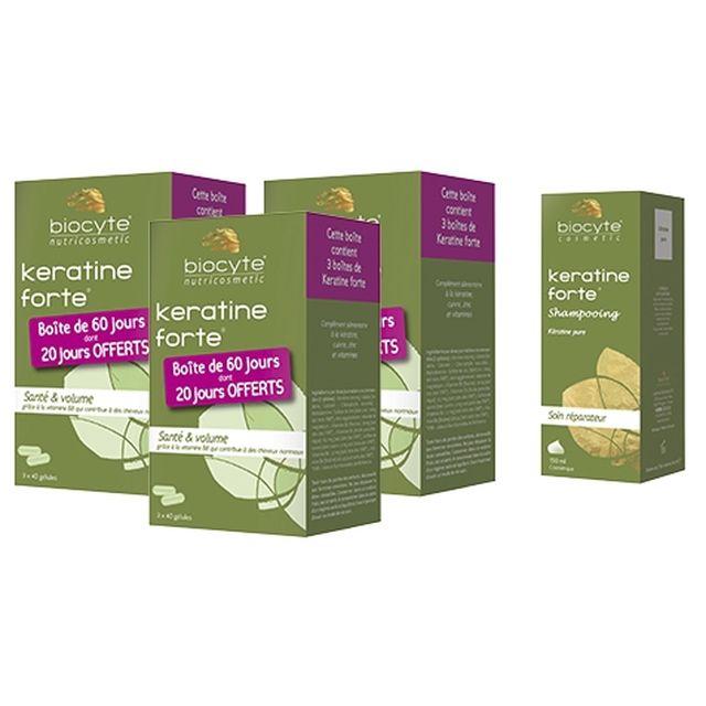 BIOCYTE Pack Kératine - parispremiereboutique.com