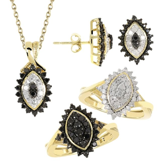 boutiqueteva.com INSTANT BIJOUX Parure Hypnotique Diamants + Chaîne - Boutique Teva