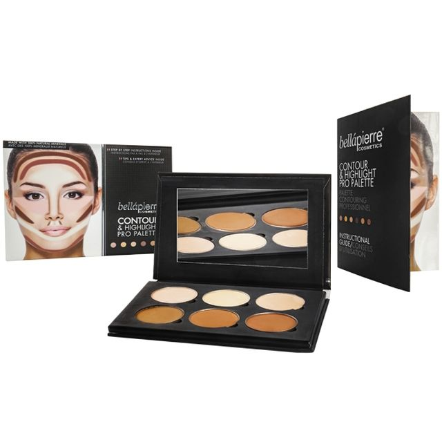 BELLAPIERRE Kit Contouring - Maquillage - www.parispremiereboutique.com