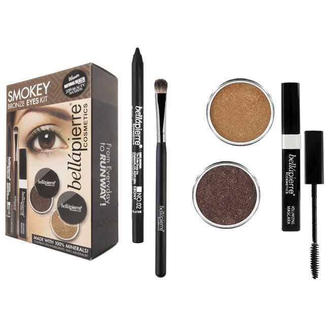 BELLAPIERRE Kit Yeux Smokey Bronze - www.parispremiereboutique.com