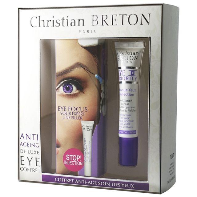 CHRISTIAN BRETON Coffret Yeux Anti-âge Luxe - parispremiereboutique.com
