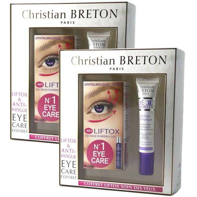 CHRISTIAN BRETON Coffret Liftox Yeux Lot de 2 - parispremiereboutique.com
