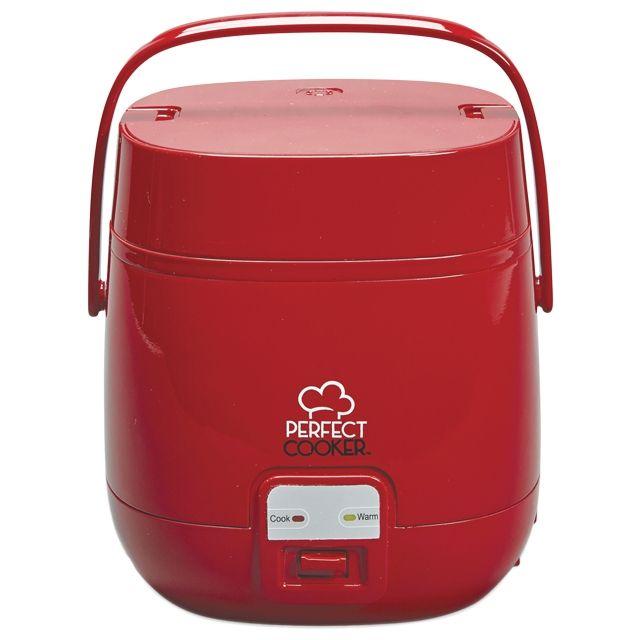Best Of Shopping - PERFECT COOKER Autocuiseur Rouge - www.bestofshopping.tv - Cuisson parfaite des aliments