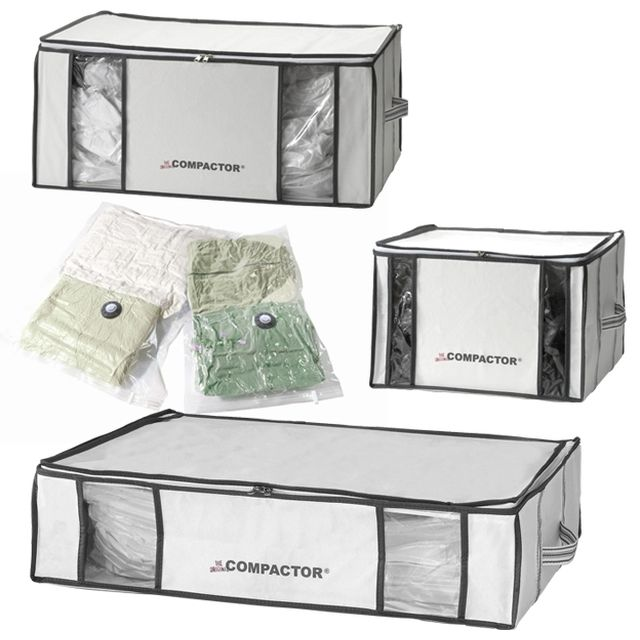 compactor maxi pack rangement sous vide m6 boutique. Black Bedroom Furniture Sets. Home Design Ideas